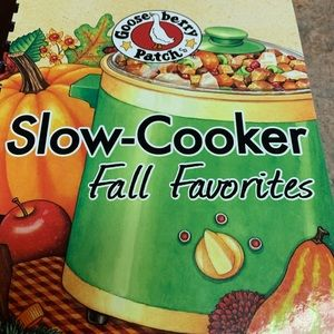 Gooseberry Patch slow-Cooker Cookbook